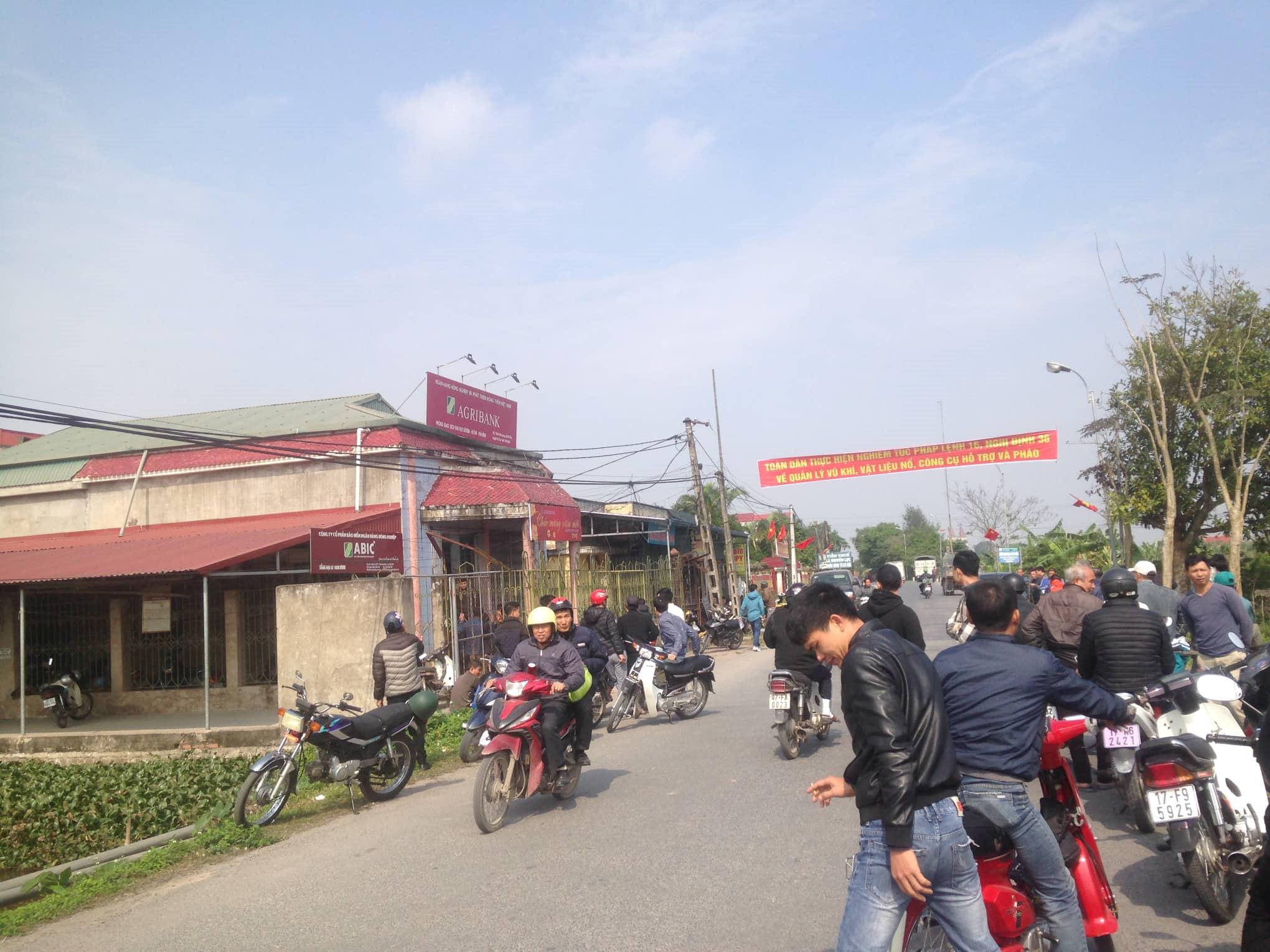 Cướp ngân hàng Agribank ở Thái Bình, lấy đi 200 triệu đồng