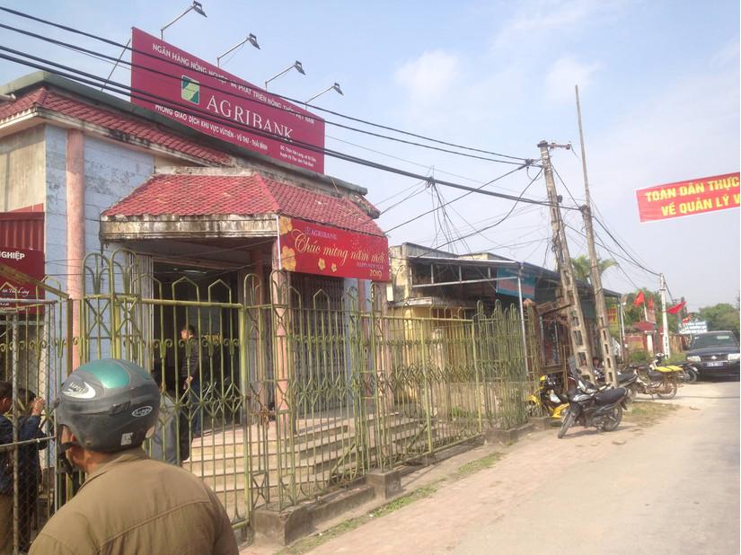 Cướp ngân hàng Agribank tại Thái Bình đã bắt giữ được đối tượng