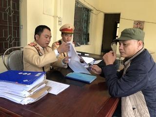 Tài xế xe giường nằm ở Nghệ An: 'Mới dùng ma túy đêm qua'