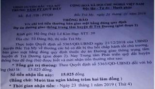 Người được thưởng 15.000 đồng ở Quảng Nam: 'Tôi không nhận...'