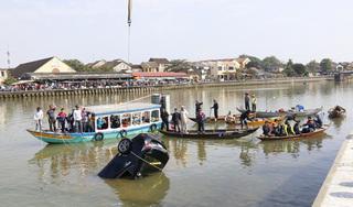 Đã tìm thấy thi thể 3 người tử vong trong vụ lao xe xuống sông ở Quảng Nam
