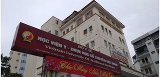Bất thường trong công tác bổ nhiệm cán bộ tại Học viện Y - Dược học Cổ truyền Việt Nam