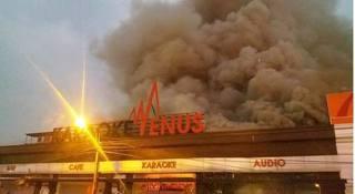 Hải Phòng: Quán karaoke bốc cháy dữ dội, nhiều tài sản bị thiêu rụi