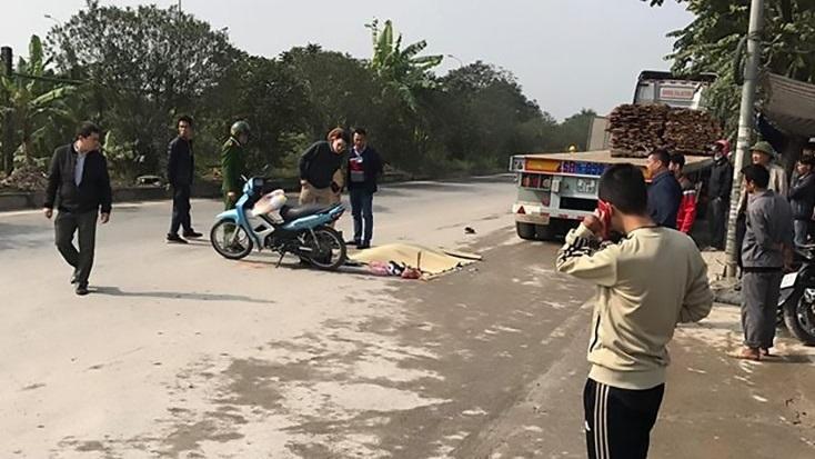Hà Nội: Truy tìm chiếc xe ben gây tai nạn khiến nam sinh trường y tử vong