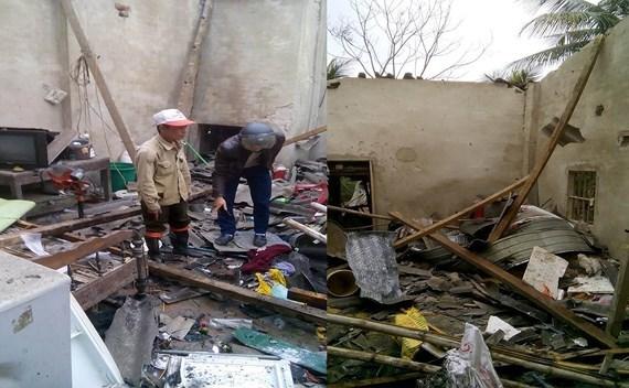 Hiện trường nhà dân phát nổ lớn, 5 người thương vong.