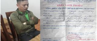 Phóng viên nghi tống tiền doanh nghiệp được thả tự do