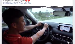 Phan Văn Đức sắm xe tiền tỷ, vừa về nhà đã bị móp đầu
