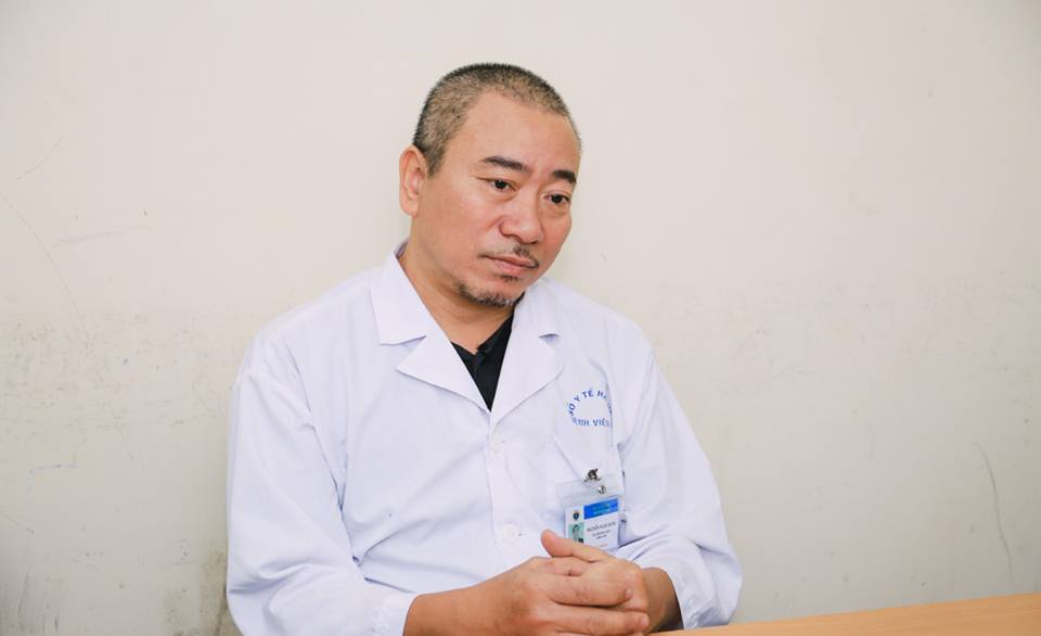Bác sĩ Hưng chia sẻ về nghề với PV