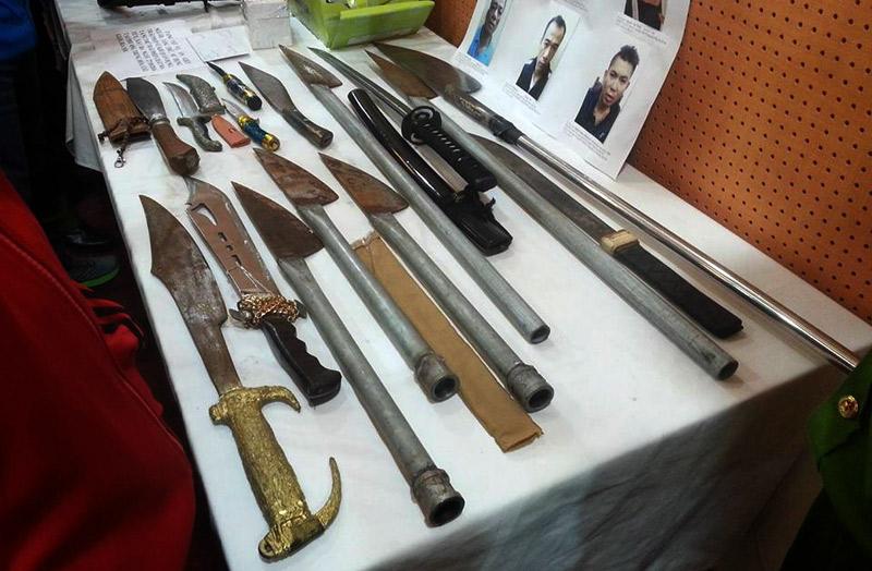 Các loại vũ khí của Long và đồng bọn