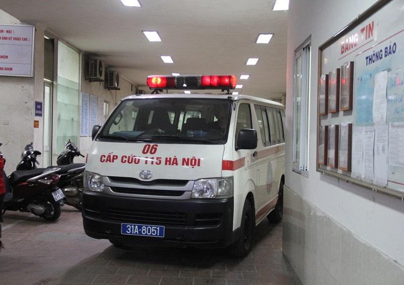 Ngày Tết Trung tâm cấp cứu 115 hoạt động hết công suất