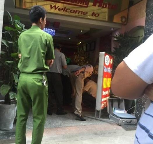 Hiện trường vụ nổ súng khiến 1 nhân viên khách sạn tử vong