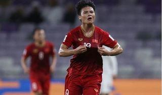 Bàn thắng đẹp nhất VCK Asian Cup 2019 gọi tên Quang Hải