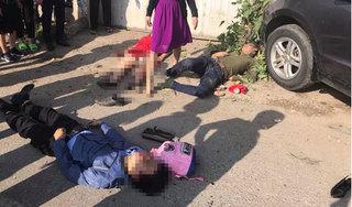 Thanh Hoá: Xe khách tông xe 7 chỗ, nhiều người bị thương nặng
