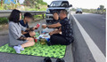 Vụ đỗ xe ăn uống trên đường cao tốc: Tài xế bị phạt 5,5 triệu đồng, tước bằng lái