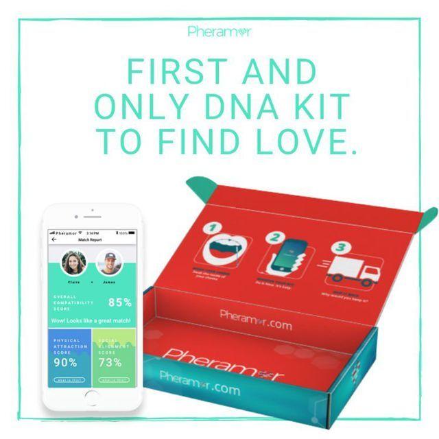 Xu hướng hẹn hò dựa trên tương thích ADN