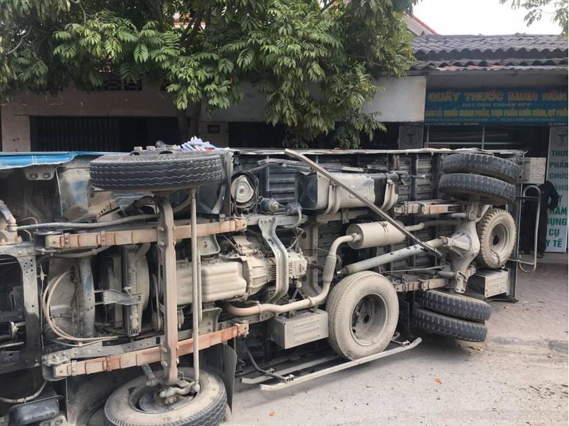Hải Phòng: Tai nạn giao thông liên hoàn, nhiều phương tiện bị hư hỏng