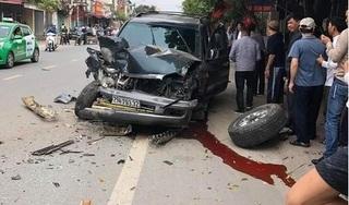 Hải Phòng: Ô tô 7 chỗ gây tai nạn liên hoàn, nhiều phương tiện hư hỏng