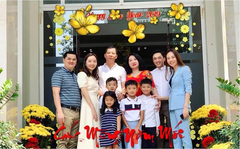 Đàm Thu Trang-Cường Đô la khoe ảnh hạnh phúc trong kì nghỉ đầu năm mới