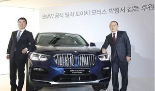 HLV Park Hang Seo được tặng xe sang BMW X4
