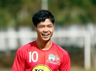 Tiền đạo Công Phượng báo tin vui với người hâm mộ Việt Nam