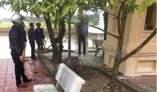 Hải Dương: Phát hiện người đàn ông tử vong trong tư thế treo cổ tại khuôn viên chùa
