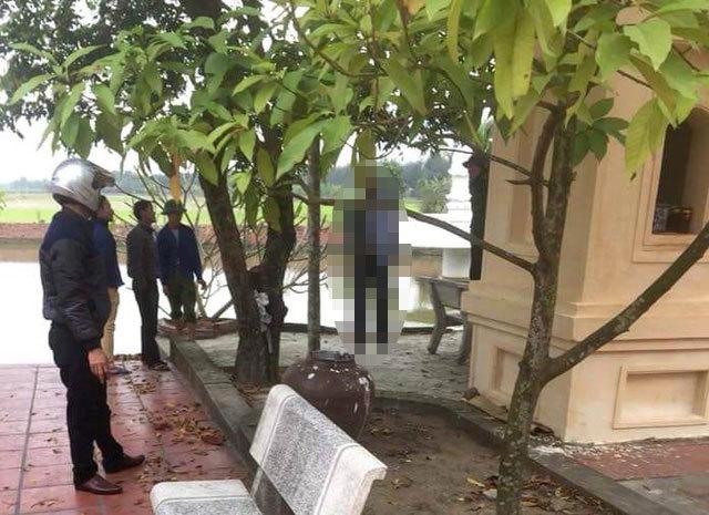 Hải Dương: Bàng hoàng phát hiện người đàn ông tử vong trong tư thế treo cổ tại khuôn viên chùa