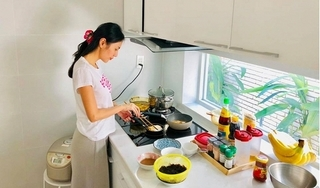Thương Thủy Tiên nấu nướng vất vả, Công Vinh 'đòi' cưới vợ bé