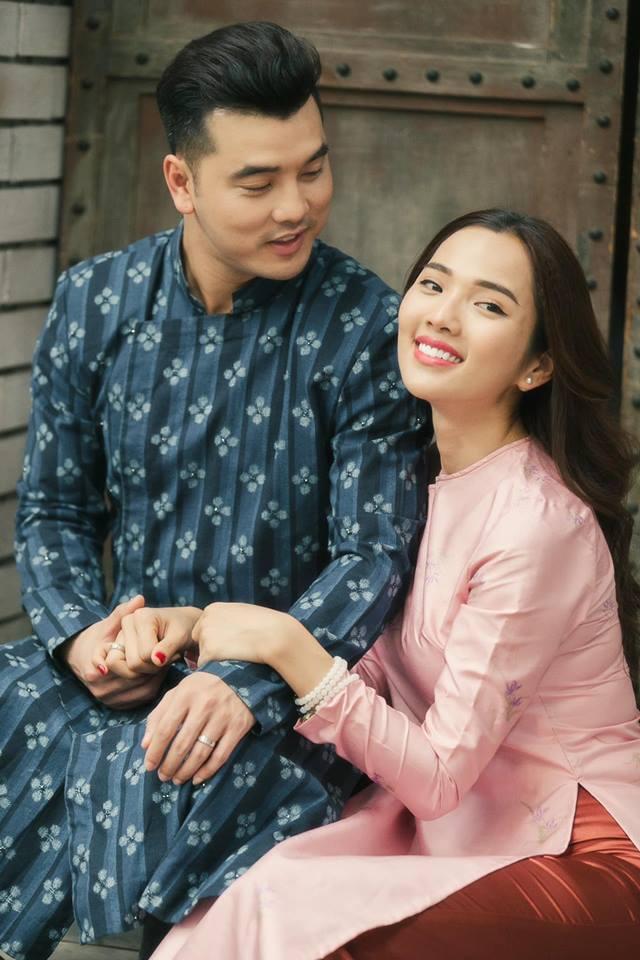 Ưng Hoàng Phúc lời gửi chúc Valentin ngọt ngào đến Kim Cương