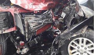 Hình ảnh hiện trường 2 vụ TNGT xảy ra trên cao tốc Nội Bài – Lào Cai