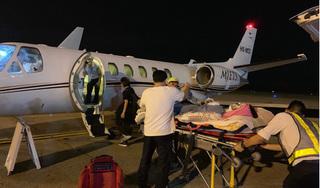 Việt kiều bị tạt axit, cắt gân chân được đưa ra nước ngoài điều trị