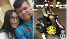 Bạn gái Quang Hải khiến dân tình sửng sốt vì phản ứng khi được tặng hoa
