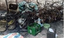 Một ngôi nhà cháy rụi nghi bị kẻ xấu phóng hỏa, người phụ nữ tử vong thương tâm