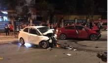 Hai ô tô đấu đầu kinh hoàng ở Vĩnh Phúc, 4 người thương vong