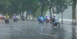 Dự báo thời tiết cuối tuần: Bắc Bộ mưa diện rộng