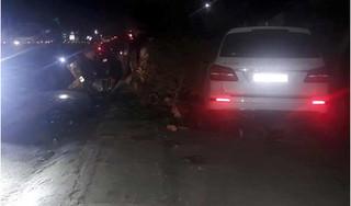 Xe Mercedes đâm liên hoàn khiến 3 người thương vong