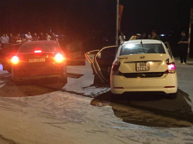 Hiện trường vụ việc 2 ô tô đấu đầu khiến 4 người thương vong ở Vĩnh Phúc5