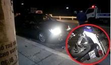 Va chạm với xe ô tô, người phụ nữ đi xe máy tử vong thương tâm