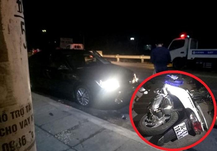 Hải Dương: Va chạm với xe ô tô, người phụ nữ đi xe máy tử vong thương tâm