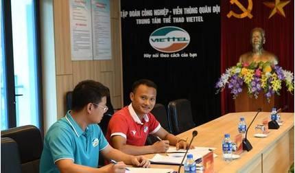 Sau Quế Ngọc Hải, CLB Viettel tiếp tục nổ 'bom tấn' trước mùa giải mới