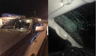 Đối tượng ném vật lạ gây vỡ kính xe bán tải trên cao tốc Hà Nội - Hải Phòng khai gì?