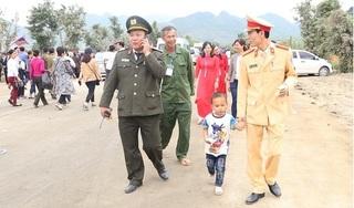 Hà Nam: Bé trai 4 tuổi bị lạc tại Lễ khai hội chùa Tam Chúc