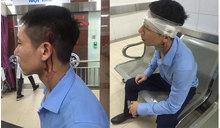 Hà Nội: Sau va chạm, người đàn ông bị tài xế taxi Vic dùng hung khí hành hung