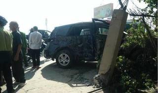 Bắt tạm giam tài xế xe khách tông xe biển xanh khiến 8 người thương vong ở Thanh Hoá