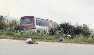 Ninh Bình: Va chạm với xe khách 2 ông cháu thương vong