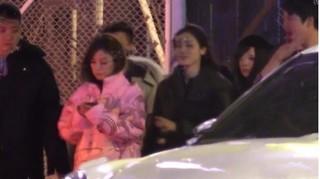 Triệu Vy say xỉn rời quán karaoke sau tin đồn ly hôn chồng