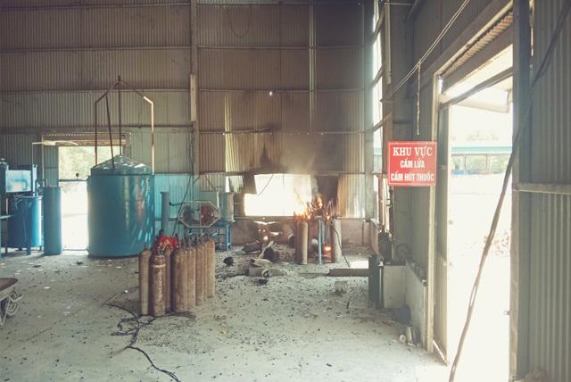 3 công nhân trọng thương khi nổ đường ống dẫn khí gas