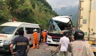 Vụ tai nạn khiến hàng chục người nhập viện tại Đà Nẵng: Do xe khách lấn làn