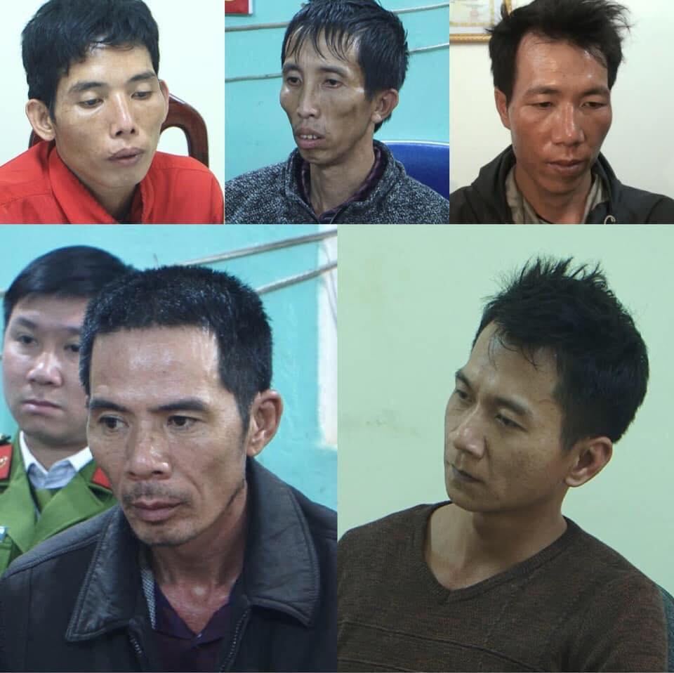 5 bị can hiếp dâm rồi sát hại nữ sinh đi giao gà