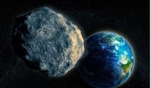 Một tiểu hành tinh đang lao nhanh về phía trái đất