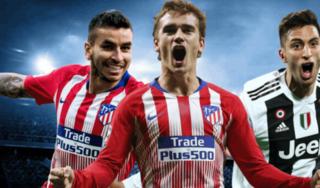 Lịch thi đấu bóng đá ngày hôm nay 20/2/2019: Đại chiến Juventus - Atletico Madrid
